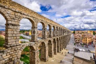 Murales Acueducto de Segovia